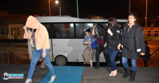Kars'ta fuhşa yönelik operasyonda 41 kişi gözaltına alındı!