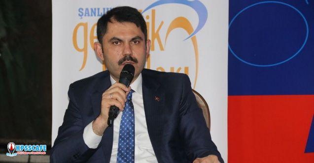 Bakan Kurum: Arnavutluk'a 500 tane konut yapıyoruz!