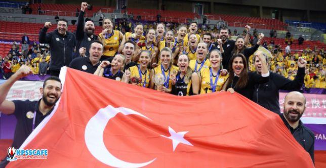 VakıfBank, şampiyon apoletiyle Dünya Şampiyonası'nda sahne alıyor!