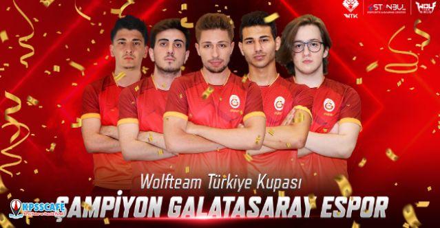 2019 Wolfteam Türkiye Kupası Şampiyonu Galatasaray Espor oldu!