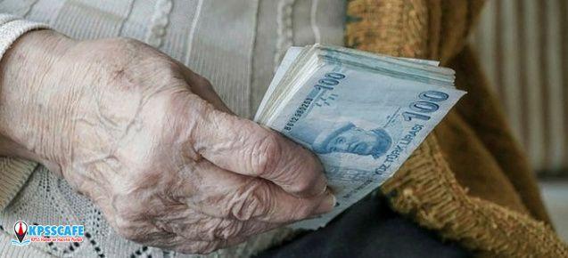 Emekli maaşı ne kadar olacak? SSK, SGK, Bağkur emekli maaşı enflasyon zammı ne kadar?