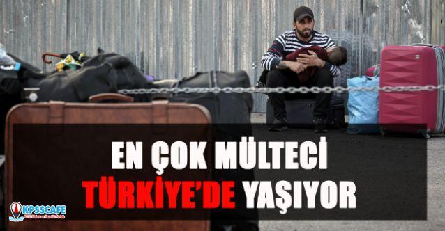En Çok Mülteci Türkiye'de Yaşıyor!