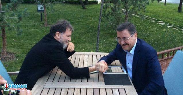 Ahmet Hakan'dan Gökçek'e: Sana ne kardeşim, sana ne? İster şarap içerler, ister su, nedir derdin senin?