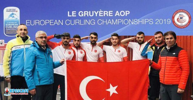 Türkiye Curling Federasyonu'na 'asker selamı' soruşturması