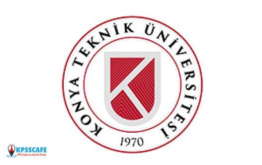 Konya Teknik Üniversitesi Sürekli İşçi Alımı Kura ve Mülakat Tarihi Belli Oldu!