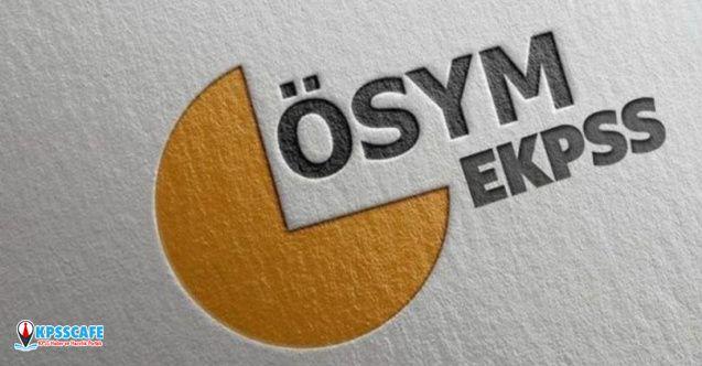 EKPSS 2020 engelli memur alımı başvuru atama ve kura tarihi