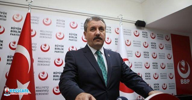 Mustafa Destici, asgari ücretin 2 bin 475 lira olmasını önerdi!