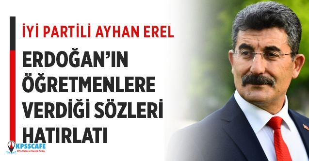 Meclis'te Erdoğan'ın Öğretmenlere Verdiği Sözler Hatırlatıldı!