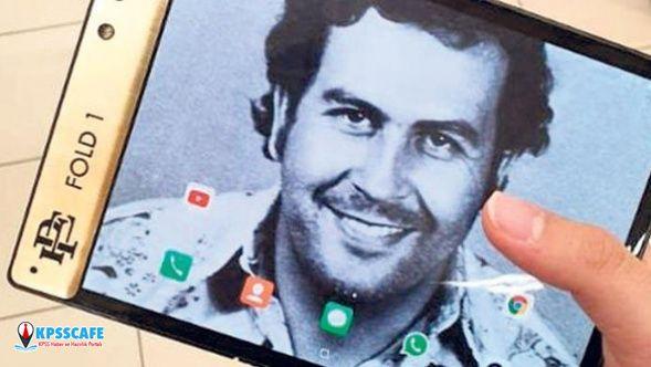 Escobar'dan 350 dolarlık katlanabilir akıllı telefon