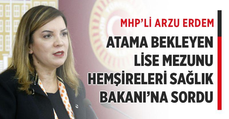 Atama bekleyen ortaöğretim mezunu hemşireler Sağlık Bakanı'na Soruldu!
