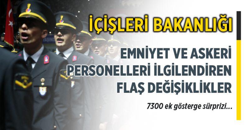 Emniyet ve Askeri Personeli İlgilendiren Flaş Değişiklikler Meclis'te Kabul Edildi! (EGM, Jandarma, JSGA vs...)