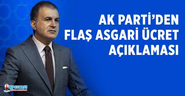 Ak Parti'den Flaş Asgari Ücret Açıklaması!