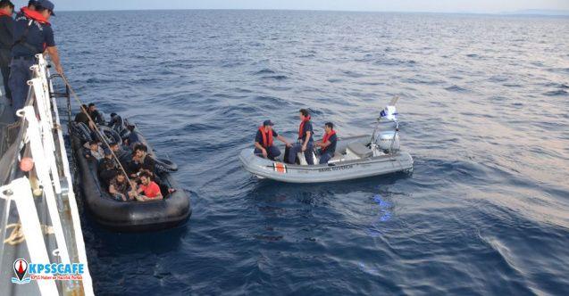 Sahil Güvenlik Komutanlığı'ndan kaçak göçmen açıklaması!
