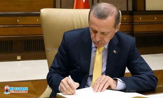 Cumhurbaşkanı Erdoğan imzaladı! Atama kararları Resmi Gazete'de...