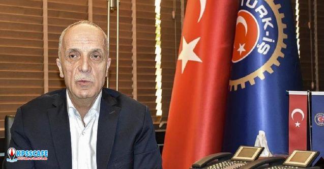 Ergün Atalay yeniden Türk-İş Genel Başkanı seçildi!