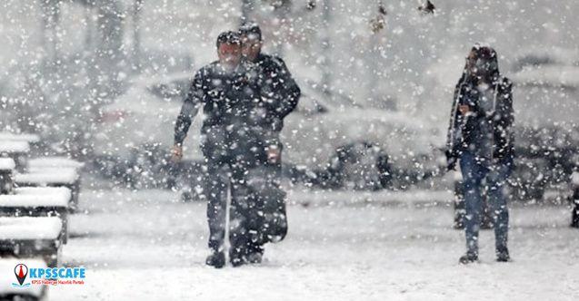 Meteoroloji'den 17 il için uyarı ! Sağanak ve kar geliyor!