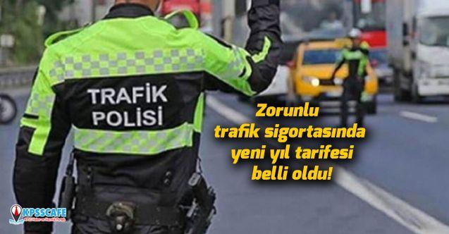 Zorunlu trafik sigortasında yeni yıl tarifesi belli oldu!