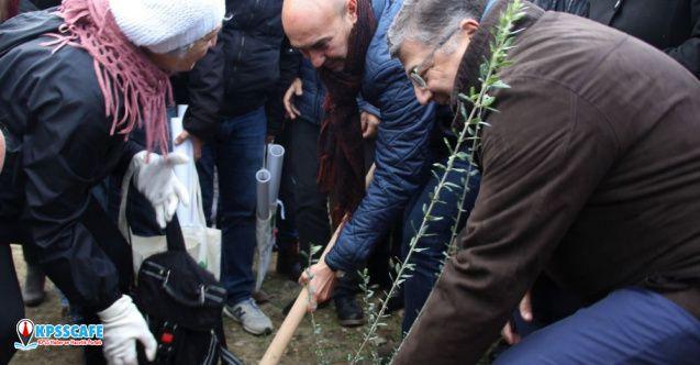 İzmir, yangının yaralarını sarıyor: Doğan her çocuk için bir fidan dikilecek!