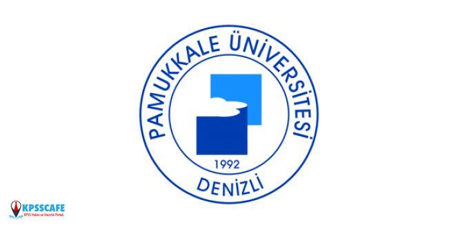 Pamukkale Üniversitesi KPSS'siz Personel Alıyor! İşte Başvuru Şartları...