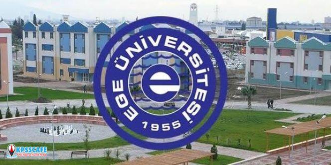 Ege Üniversitesi Eski Hükümlü ve TMY Daimi Personel Alacak!