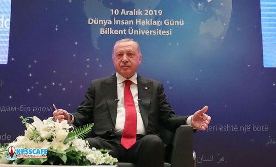 Cumhurbaşkanı Erdoğan'dan KYK borcu açıklaması: Öğrencilerimizin lehine bir adım atacağız