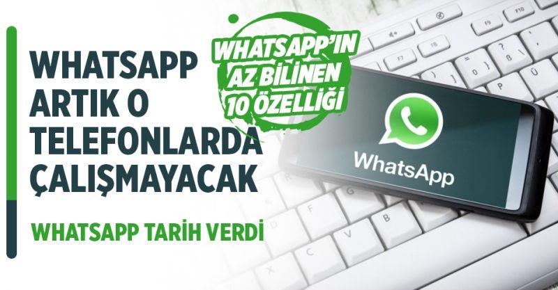 WhatsApp'tan Artık O Telefonlarda Çalışmayacak! Tarih Belli Oldu!