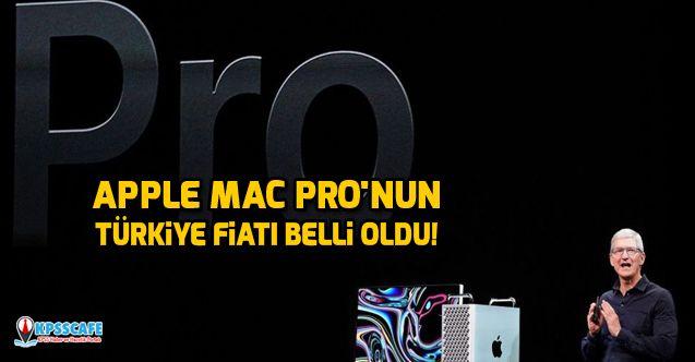 Apple Mac Pro'nun Türkiye fiyatı belli oldu!