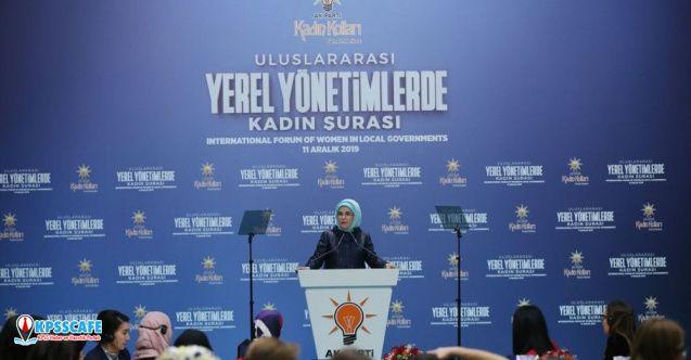 Emine Erdoğan: AK Parti Kadın Kolları Açıklaması!