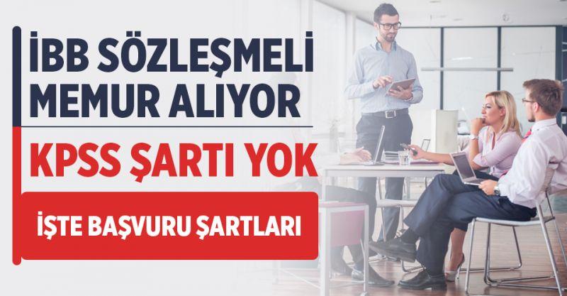 İstanbul Büyükşehir Belediyesi 420 sözleşmeli personel alacak! İşte Başvuru Şartları...