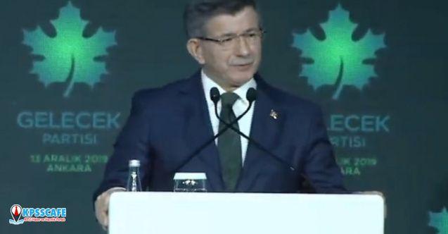Ahmet Davutoğlu'nun bugün resmen tanıttığı Gelecek Partisi'nin belediyesi oldu!