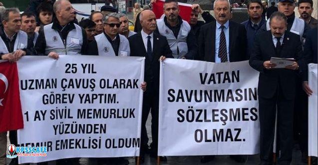 Ali Keven: Uzman Çavuşlar Özlük Haklarını İstiyor!