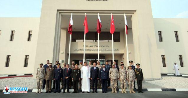 Katar-Türk Birleşik Müşterek Kuvvet Komutanlığı Karargahı açıldı!