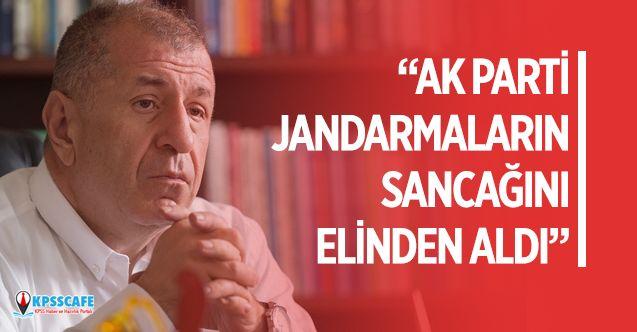 """""""Ak Parti Jandarma'ların Sancağını Elinden Aldı"""""""