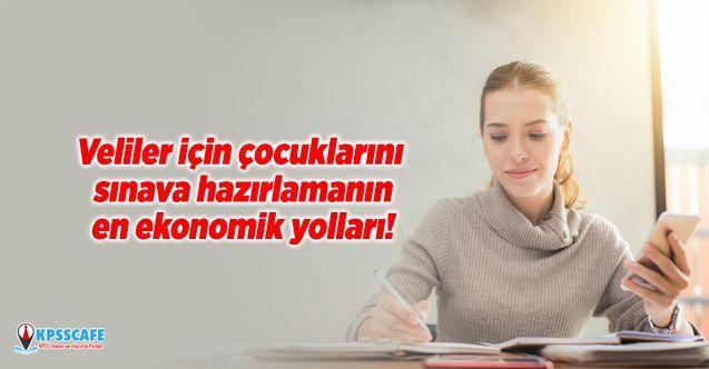 Veliler için çocuklarını sınava hazırlamanın en ekonomik yolları!