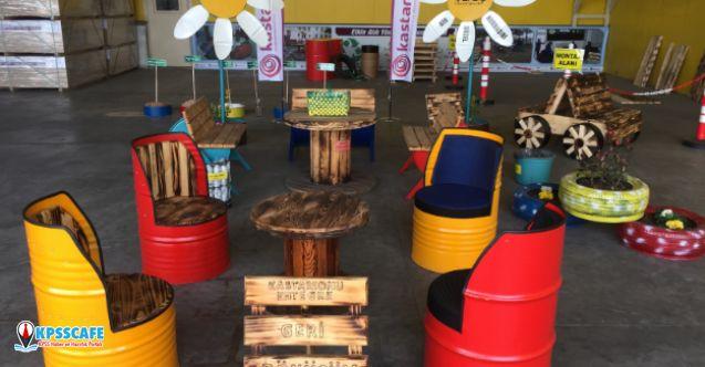"""""""50. Yılda 50 Okula Geri Dönüşüm Bahçesi"""" Projesi Tamamlandı!"""