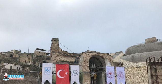 Hasankeyf'in 610 yıllık camisi böyle taşındı!
