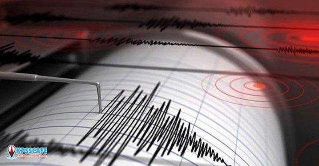 O ilimizde Gece Yarısı Korkutan Deprem!