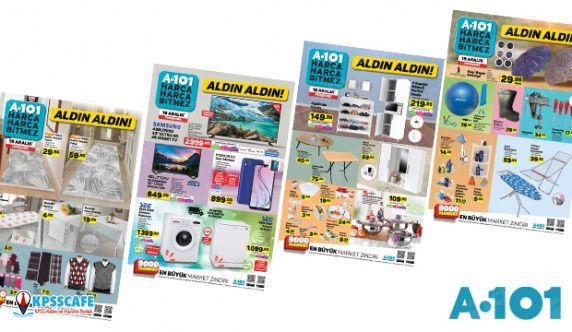 A101 19 Aralık aktüel ürünler kataloğu! A101'de beyaz eşya kampanyası...
