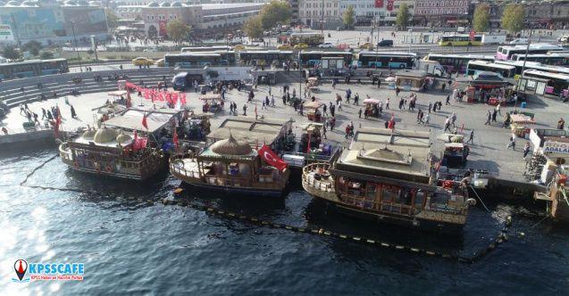 Eminönü'ndeki balıkçılar için yeni karar!