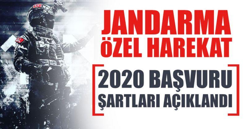 2020 Jandarma Özel Harekat (JÖH) Başvuru Şartları...