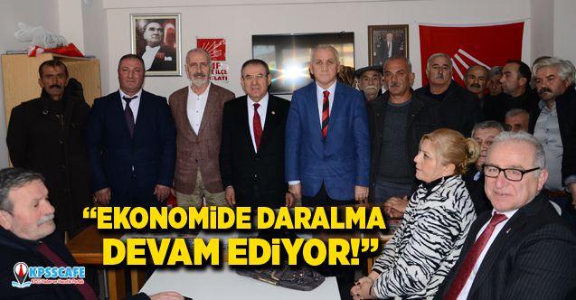 Kemal Zeybek:Ekonomide Daralma Devam Ediyor!
