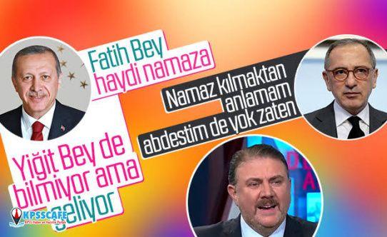 Fatih Altaylı Cumhurbaşkanı Erdoğan'la yaşadığı namaz anısını paylaştı