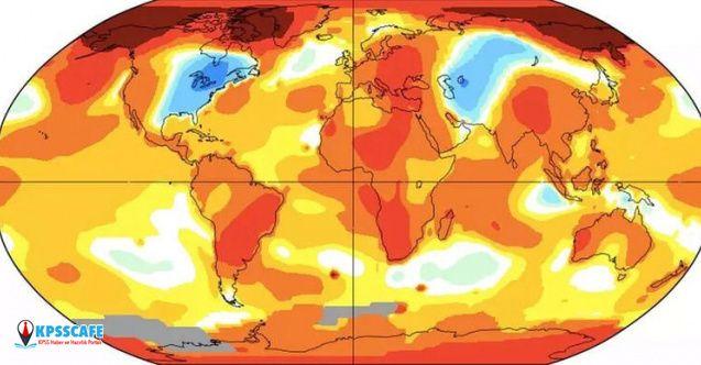 NASA'nın paylaştığı harita korkunç gerçeği gözler önüne serdi!