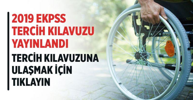 2019 EKPSS Tercih Kılavuzu Yayınlandı!