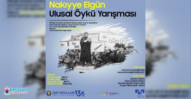 Işık Ortaokulu Nakıyye Elgün Ulusal Öykü Yarışması başladı!