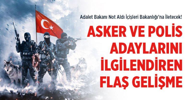 Polis ve Asker Adayları İçin Flaş Gelişme! PMYO Başvuru Şartlarında Değişiklik Talebi!