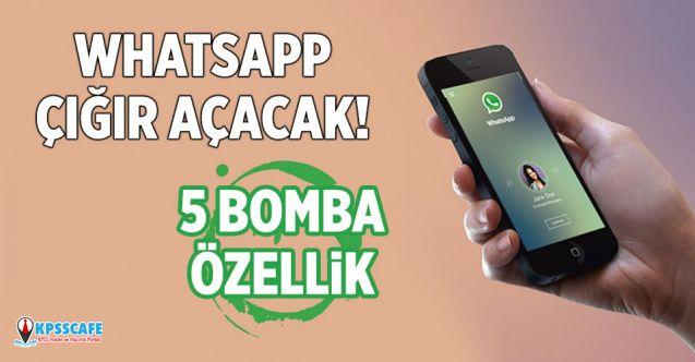 WhatsApp'a çığır açacak 5 özellik geliyor! Bomba gelişme...