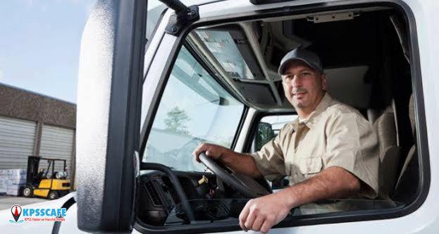 Kamuya KPSS'siz En Az İlkokul Mezunu Şoför Alınıyor! İşte Başvuru Şartları...