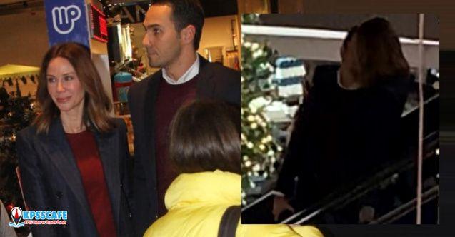 Demet Şener ile Cenk Küpeli AVM'de aşka geldi!