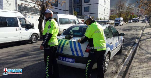 Trafik Polisi, Eşine Ceza Yazdı!
